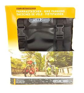 Ortlieb Sport Packer Classic QL2.1 Bicycle Panniers, Waterproof, Black, PAIR