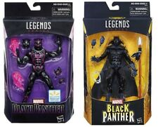 Marvel Legends ~ Black Panther Vibranium Suit and Reg ~ Walmart Ex. ~ Lot