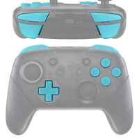 Heaven Blue ABXY Dpad ZR ZL R L Buttons Set for Nintendo Switch Pro Controller