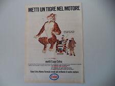 advertising Pubblicità 1966 ESSO METTI UN TIGRE NEL MOTORE