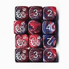 Shadow Dice - Red/Purple Shadowrun Dice x12 (unboxed)