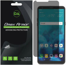 2-Pack Dmax Armor Privacy Anti-Spy Screen Protector for LG Stylo 4