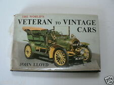 THE WORLDS VETERAN TO VINTAGE CARS JOHN LLOYD,LAGONDA,ALVIS,NAPIER,TAMPLIN,MERCE