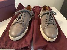 Preowned John Lobb Levah Gray Suede Sneakers Size 6 1/2 EU 7 1/2 US $750.00