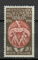 S21569) Italy 1950 MNH New Fine Arts 1v