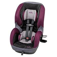 Baby Evenflo SureRide DLX Convertible Car Seat Carseat Sugar Plum Safety Child