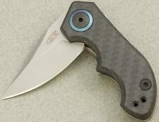 Zero Tolerance Tim Galyean KVT Ceramic Blast SMALL Folding Pocket Knife 0022 ZT