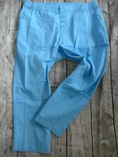 719 Sheego Jeans Hose Stretch blau Damen Gr 40 bis 58 Übergröße mit Aplikation