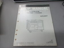 NOS Honda OEM Power Equipment Shop Service Manual Generator EX3300 S EX4500 S K1