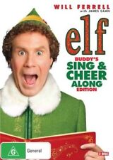 ELF Buddy's SING & CHEER ALONG Edition DVD CHRISTMAS MOVIES BRAND NEW SANTA R4