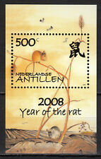 Dutch Antilles - 2008 Chinese New Year / Year of the rat Mi. Bl. 72 MNH