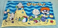 Vintage 90's Nickelodeon Rugrats Beach Towel * A Day At The Beach, New With Tag!