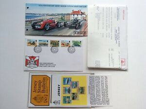 Jersey 1980 60th Anniversary Of JMC & LCC Presentation Pack Stamps & FDC