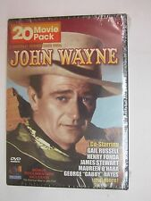John Wayne 20 Movie Pack (4 Disc Pack) (DVD, 2005, 4-Disc Set) BRAND NEW  SEALED