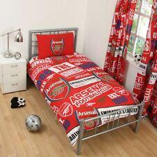 Arsenal FC 'Empiècement' Set Housse de Couette Simple Neuf Football