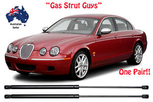 Gas Struts suit Jaguar S-Type BONNET 1999 to 2008 New PAIR S Type X200 X202 X204