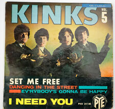 EP 45T the Kinks set me free PNV 24140  bon état avec languette