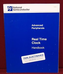 1989 National Semiconductor Advanced Peripherals ~ Real Time Clock