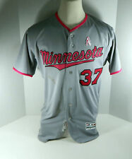 RARE Pink Mother's Day GAME USED JERSEY Minnesota Twins MLB Authentic Baseball