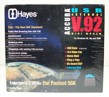 Hayes Accura V.92 Mini External Modem Model 15350 with USB Powered with Cable