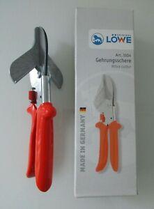 LÖWE Gehrungsschere 3104 Schere geeignet für Kunststoff Gummi und Holz