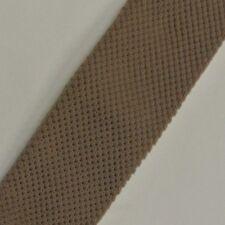 """Solid Brown Skinny Slim Trunk Tie 1.8"""" Wide 48"""" Long"""