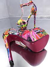 NEUF 2017 Haut Top larreas Plateforme Femmes o89 Sandales Escarpins Chaussures Sexy talons hauts