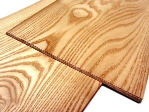52x ESCHE FURNIER echt Holz Dekor Furnierplatten Edelholz Design Starkfurnier