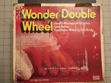Wonder Wheel-Vintage Exercise Roller-Health Watchers Of America