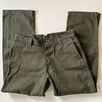 Vintage Men's 1960's Deadstock Whipcord Pants Trousers Square Pocket Outdoor 34