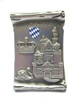 Schloss Neuschwanstein Metall Magnet 7 cm Füssen Souvenir Germany