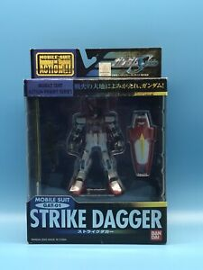 Bandai Mobile Suit Gundam Seed GAT-01 Strike Dagger Gundam Action Figure MSIA