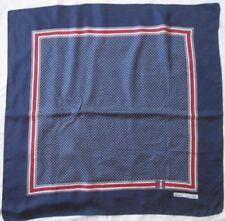 Bonito pañuelo de seda vintage 85 cm x 85 cm bufanda