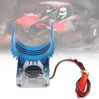 Autos 540 Motor Kühlkörper mit Lüfter 1/8 und 1/10 RC Fan Sicher Kühler Blau