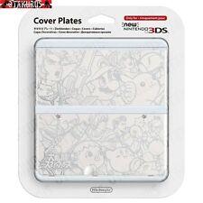 # 39 Blanco Smash Bros patrón Placa de cubierta Nuevo Nintendo 3ds Oficial artículo Japón