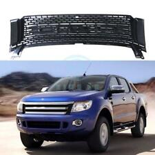 For Ford Ranger T6 2012-2014 Black front grille vent grid trim c
