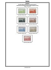 Print your own Serbia Stamp Album, fully illustrated and annotated