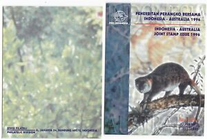 1996 INDONESIA-AUSTRALIA JOINT STAMP ISSUE CUSCUS Booklet (INDONESIA'96)