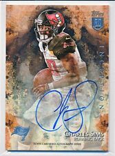 CHARLES SIMS 2014 BOWMAN INCEPTION ON CARD ROOKIE AUTOGRAPH AUTO RC