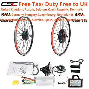Electric Bike Conversion Kit 36V 48V  20-29inch 700C ebike Motor Hub Wheel