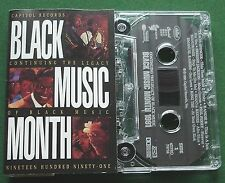 Black Music Month 1991 Tracie Spencer Freddie Jackson + Cassette Tape - TESTED
