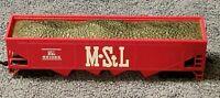 HO Scale M&St. L Hopper Car w/coal 541085 Minneapolis & St Louis