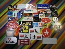 vtg 1970s 1980s Ski Skiing sticker - Swix Jofa Rollka Tomic Lange Molnar Serac+