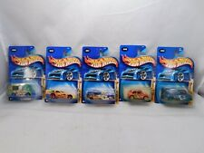 Lot of 5,Hot Wheels 2003 Crazed Clowns Series Complete 164 scale vehicles MIP