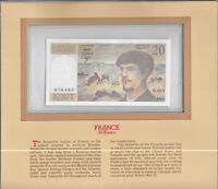 Most Treasured Banknotes France 20 Franc 1983 UNC P 151a Serie N.011