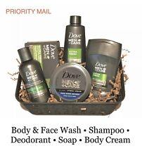 Christmas Gift Basket,Men's Bath & Body Gift Set,Dove Men+Care, PRIORITY MAIL