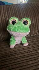 Ty Beanie Boos Boo Kiwi The Frog 'rare'