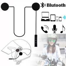Rechargeable Bluetooth 4.1 Motorcycle Helmet Headset Speaker Handsfree + Charger