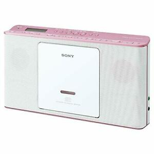 SONY CD Radio ZS-E80 : FM/AM/Wide FM with Language Learning Features Pink JAPAN