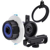 Adjustable Follow Focus Gear Ring Belt for DSLR Lenses Cameras Video Photo